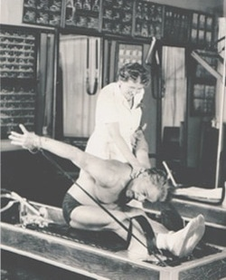 Joseph Pilates, creator of the Pilates Method